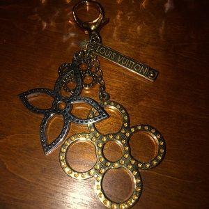 Louis Vuitton Key Chain/Purse Charm